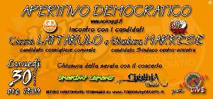 Aperitivo democratico - 30 aprile 2012 - Matera