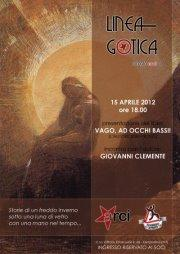 Aperitivo letterario: Giovanni Clemente - 15 aprile 2012 - Matera