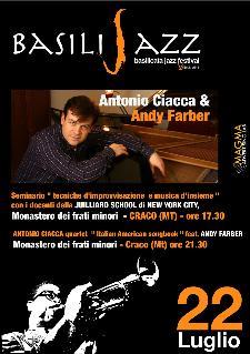"BASILIJAZZ 2012 - ANTONIO CIACCA QUARTET ""ITALIAN AMERICAN SONGBOOK"" feat. ANDY FARBER - 22 luglio 2012 - Matera"