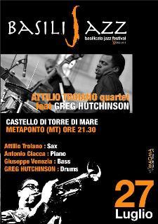 BASILIJAZZ 2012 - ATTILIO TROIANO QUARTET feat GREGORY HUTCHINSON - 27 luglio 2012 - Matera
