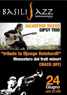 BASILIJAZZ 2012 - TRIBUTE TO DJANGO REINHARDT - 24 giugno 2012 - Matera