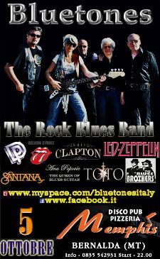 BLUETONES LIVE - 5 ottobre 2012 - Matera