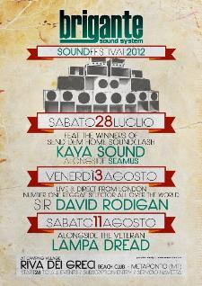 BRIGANTE SOUND FEST 2012 - Matera