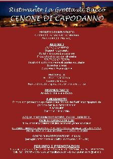 Capodanno 2013 a La Grotta di Bacco - Matera