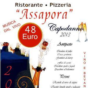 Cenone di San Silvestro al Ristorante Assapora  - Matera