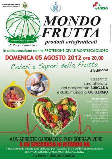 Colori e Sapori della Frutta - 5 agosto 2012 - Matera