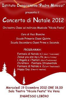 Concerto di Natale 2012  - Matera