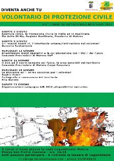 Corso di antincendio boschivo 2012  - Matera