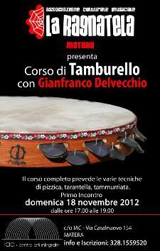 Corso di Tamburello - 18 novembre 2012 - Matera