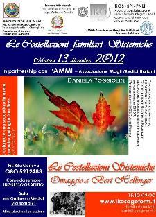 Costellazioni Sistemiche Familiari - 13 dicembre 2012 - Matera