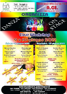 Danza on Stage - Class Workshop - 9 e 10 giugno 2012 - Matera