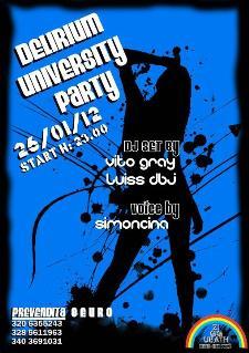 Delirium University Party  - Matera
