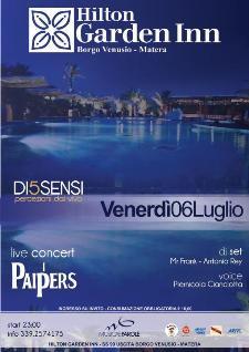 DI5SENSI / Percezioni dal Vivo - 6 luglio 2012 - Matera