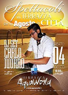 DJ SET Mj Carlo IUORNO - 4 agosto 2012 - Matera