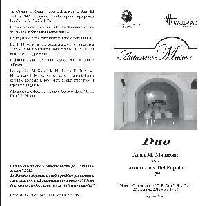 Duo - Anna Maria Manicone e Annunziata Del Popolo - 20 dicembre 2012 - Matera