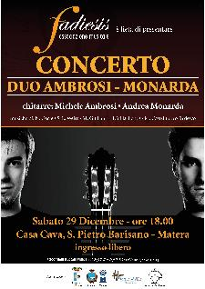 Duo chitarristico Ambrosi Monarda - 29 dicembre 2012  - Matera