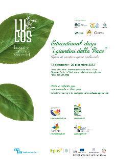 """Educational Days """"I Giardini della Pace"""" - Matera"""