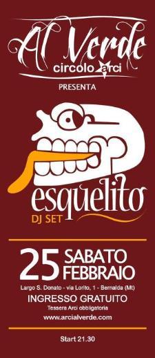 ESQUELITO DJ set  - Matera
