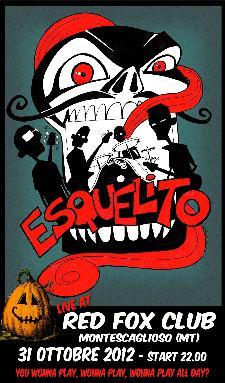Esquelito live - Halloween 2012 - 31 ottobre 2012 - Matera