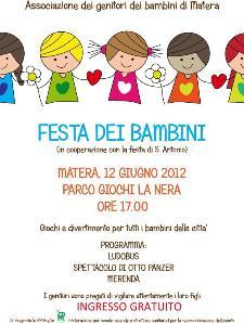 Festa dei bambini 2012 - Matera