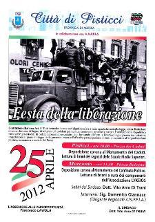 Festa della Liberazione a Pisticci  - Matera