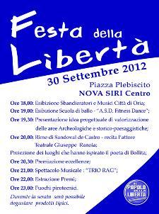 Festa della Libertà 2012 - 30 settembre 2012 - Matera