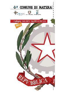 Festa della Repubblica Italiana - 2 giugno 2012 - Matera