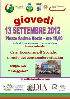 Festa regionale del consumatore 2012 - Matera