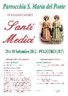 Festa Santi Cosma e Damiano a Policoro - 29 e 30 settembre 2012 - Matera