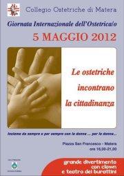 Giornata Internazionale dell'Ostetrica  - Matera