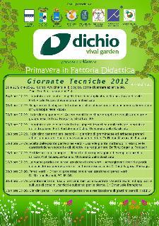 GIORNATE TECNICHE 2012 - DICHIO GARDEN CENTER DI MATERA  - Matera