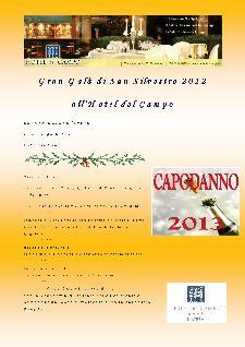 Gran Galà di San Silvestro all'Hotel del Campo - Matera