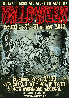 HALLOWEEN CYCLEDELIC NIGHT - 31 ottobre 2012 - Matera