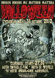 HALLOWEEN CYCLEDELIC NIGHT - 31 ottobre 2012 - Matera