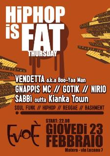 HIPHOP is FAT  - Matera