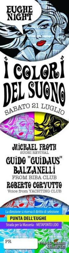 I COLORI DEL SUONO - 21 luglio 2012 - Matera