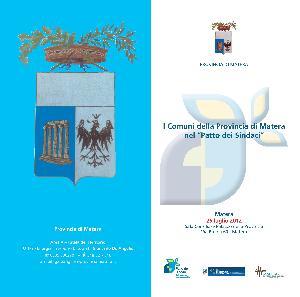"""I Comuni della Provincia di Matera nel """"Patto dei Sindaci"""" - 25 luglio 2012 - Matera"""
