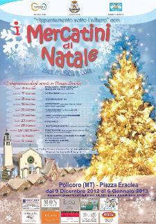 I Mercatini di Natale 2012 - Matera