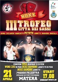 III Torneo Citta dei Sassi - 21 aprile 2012 - Matera