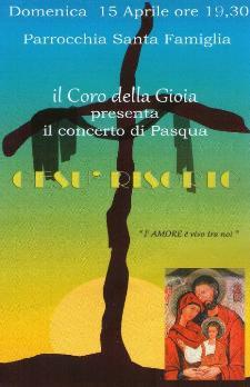 Il coro della gioia presenta il concerto di pasqua - 15 aprile 2012 - Matera