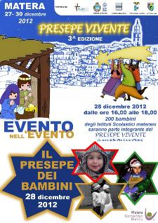 Il Presepe dei Bambini - Presepe Vivente 2012 - 28 dicembre 2012 - Matera