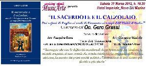Il sacerdote e il calzolaio - 31 marzo 2012 - Matera