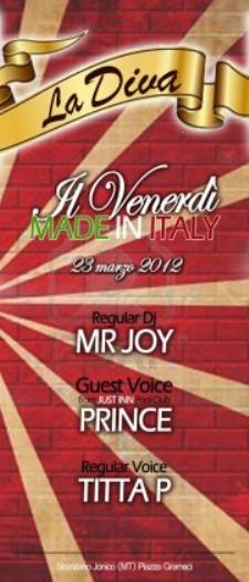 Il Venerdì Made in Italy  - Matera