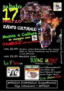 In Viaggio con Yambulè..Uniti per l'Etiopia!  - Matera
