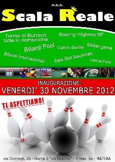 """INAUGURAZIONE BOWLING """"HIGHWAY 66"""" E SKILLER GAME - 30 novembre 2012 - Matera"""