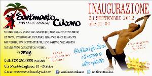 Inaugurazione Sentimento Cubano - 23 settembre 2012 - Matera
