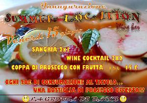 Inaugurazione Summer Location - 16 giugno 2012 - Matera