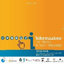 INFORMAZIONE TRA RIFORMA E NUOVI LINGUAGGI - 24 settembre 2012 - Matera
