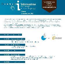 INFORMAZIONE TRA RIFORMA E NUOVI LINGUAGGI - 24 settembre 2012