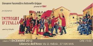 Intrighi d'Italia - 1 dicembre 2012 - Matera